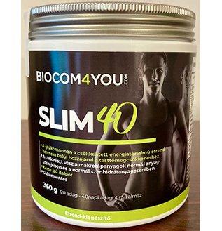 SLIM 40, Körte ízű