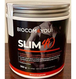 SLIM 40, Meggy ízű